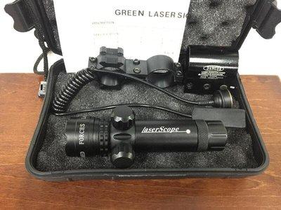 綠雷射 兩點調整 綠外線 瞄具 定標器 求生燈 瞄準器 老鼠尾 綠雷 激光