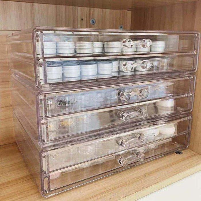美甲飾品收納盒鉆飾工具亞克力抽屜式膠收納盒專業美甲店桌面中大號尺寸價格差異,聯繫客服議價