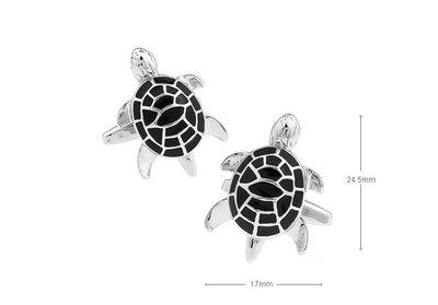 ☆TA精品☆ 男士精品-烏龜造型袖扣156476