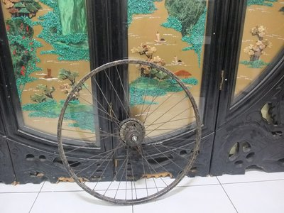24吋淑女車腳踏車後輪輪框24X1 3/ 8適用.桃園市樹仁一街自取一個100 桃園市