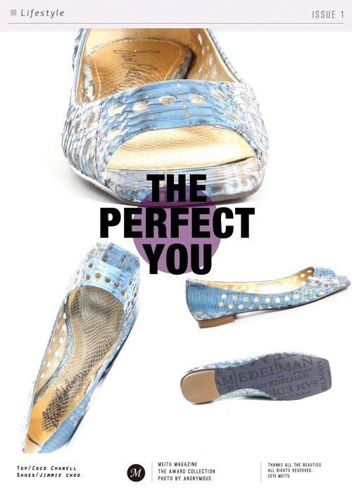 ♔♥ Sam Edelman 美國購回 金X土耳其藍 魚口真皮便鞋