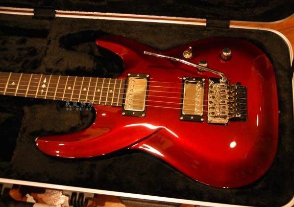 《民風樂府 清倉特價》DBZ BARCHETTA ST-FR 重金屬紅色大搖座電吉他 特價出清 僅此一把