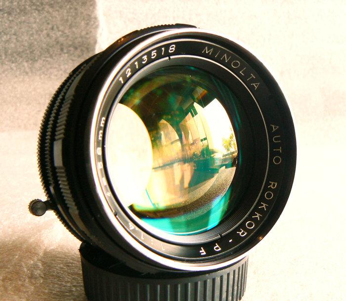 【悠悠山河】大眼睛優質人像鏡 A7 E口及各款無反微單直上--白嘴 Minolta PF 58mm F1.4 超通透明亮