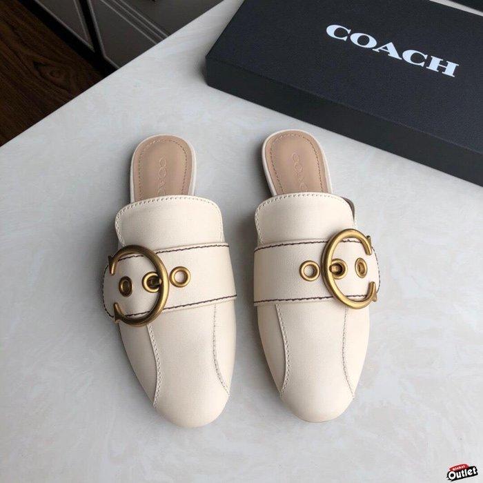 【全球購.COM】COACH 寇馳 2020新款 懶人鞋1 百搭休閒鞋  時尚精品 美國連線代購