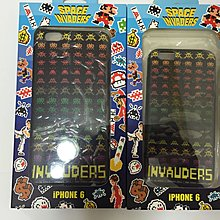 街機太空侵略者Space Invaders apple iphone 6 6S plus case 手機殼 保護套