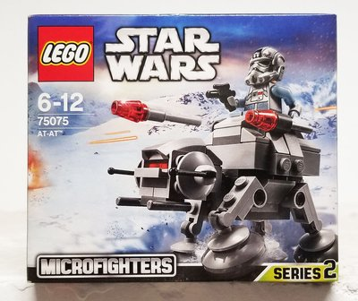 全新未開 Lego 75075 Star Wars AT-AT Microfighter Stormtrooper 星球大戰 白兵