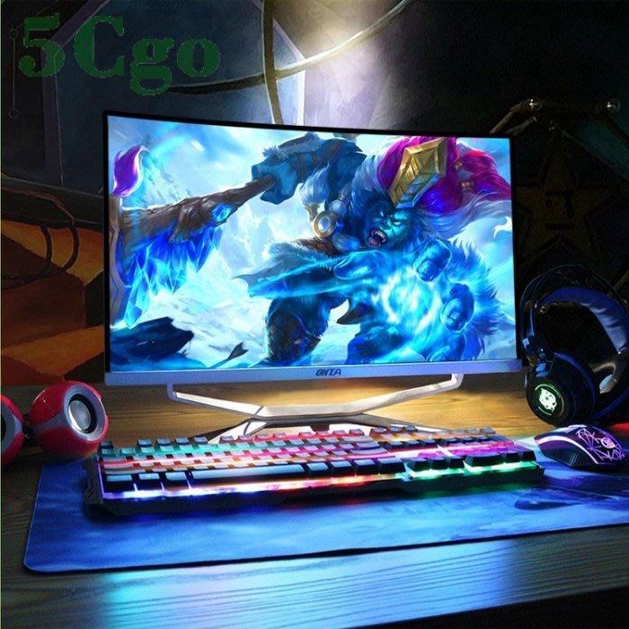 5Cgo【權宇】23.8吋可升級曲面屏AIO一體機電腦迷你電腦主機獨顯LOL吃雞電競遊戲型酷睿i3 i5 i7整套 含稅