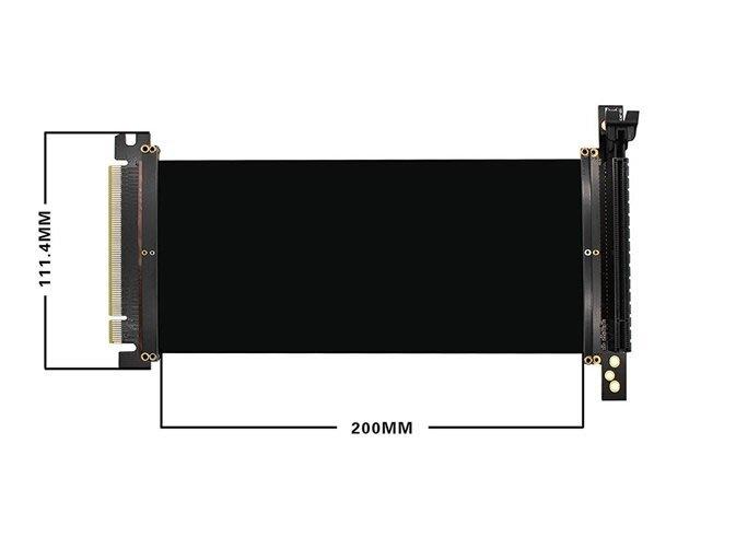小白的生活工場*Awesome PCI Express PCIe3.0 16x柔性電纜延長線-AWD-CB-RSE002