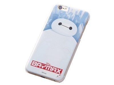 尼德斯Nydus~* 日本迪士尼 大英雄天團 杯麵 硬殼 透明側邊 手機殼 4.7吋 iPhone6 Baymax款