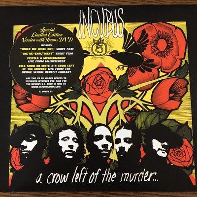 [老搖滾典藏] Incubus-A Crow Left Of The Murder CD+DVD 美盤