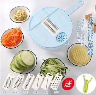 現貨快出供應 多功能切菜器 15件組 切菜機 磨泥器 切片器 刨絲器 擦絲