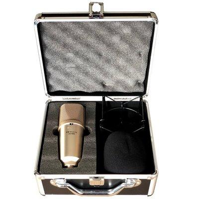 展示品出清  DB-8000 大膜片多指向性錄音麥克風~原價16XXX超低價出清(限自取)