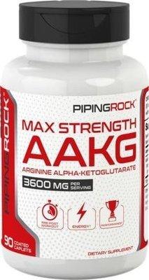 【Piping Rock】現貨 AAKG 左旋精胺酸 L-Arginine 精胺酸 1200mg 90粒