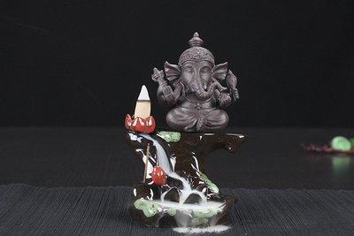 暖暖本舖 新印度佛像倒流香 觀世音療癒...