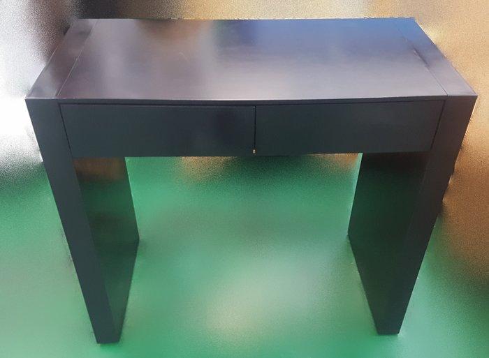 宏品二手家具館 中古傢俱賣場 E41102黑色2抽書桌*中古桌椅 電腦椅 餐桌椅 戶外休閒桌椅 洽談椅 辦公椅 泡茶椅