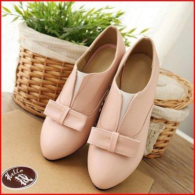 *鞋館Shoes hall*【A12451】獨家款絕美蝴蝶結百搭尖頭裸靴~4色~(可訂做大尺碼)