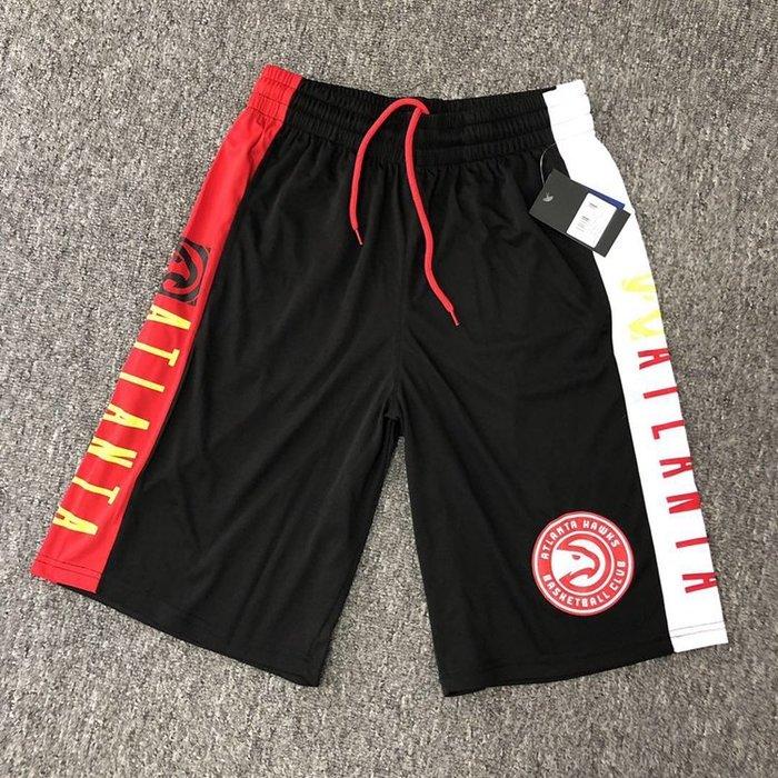 NBA籃球短褲 亞特蘭大老鷹隊 Vince Carter  口袋版 運動籃球褲 正版