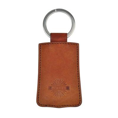 【英國James Purdey & Sons】Oak Bark Leather 真皮鑰匙圈 皮革鑰匙圈 手工英國製