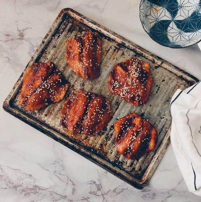 鮮鱻本舖  特級蒲燒鯛魚腹片5入