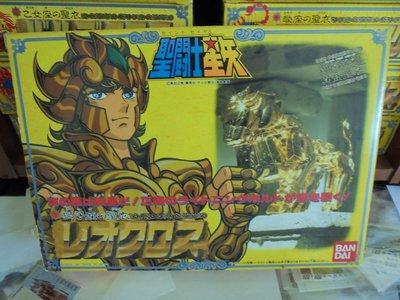 聖鬥士星矢-日版聖衣大系黃金聖衣獅子座C10 未使用(UNUSED)(1987 MADE IN JAPAN)