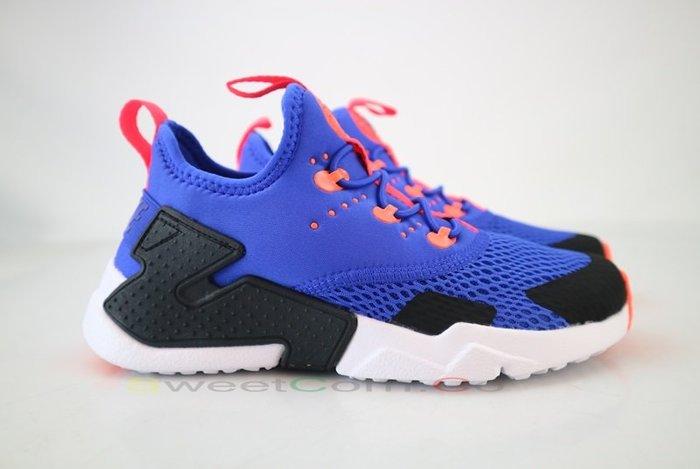 玉米潮流本舖 NIKE HUARACHE DRIFT (PSE) AO3155-402 藍橘黑 中童 慢跑鞋
