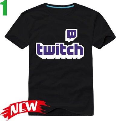 【Twitch】短袖創意設計主題T恤(共6種顏色可供選購) 新款上市任選4件以上每件400元免運費!【賣場一】
