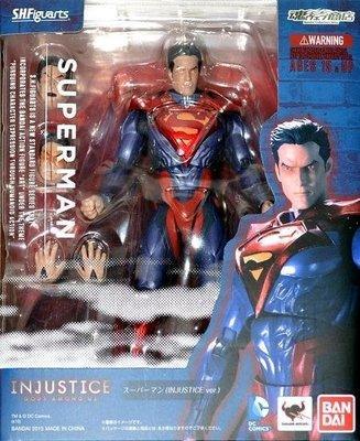 全新 SHF 魂商店限定 不義聯盟 Injustice 超人 Superman