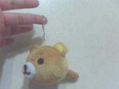 全新拉拉熊懶懶熊棒槌吊飾