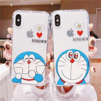 【現貨iphone12空壓殼】哆啦A夢 適用於iphone11 xs手機殼xr i6 i7軟殼 i8plus ix手機殼