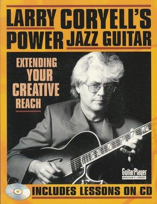 【音樂/最後一本/特價/非二手/英語原文】Larry Coryells Power Jazz Guitar 內附CD