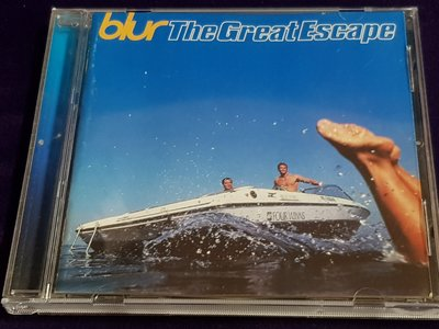 R西洋團(二手CD)BLUR The GreatEscape~