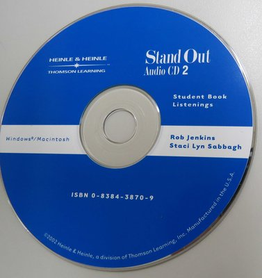 Stand Out 2  Audio CD