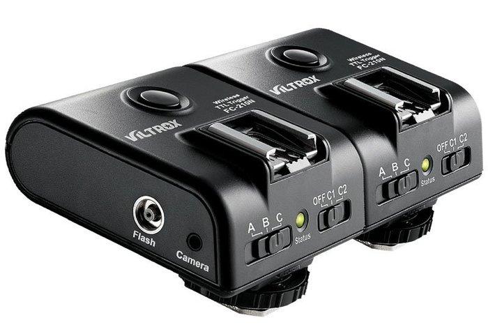 呈現攝影-Viltrox FC-210n 無線TTL閃燈觸發器2.4G Nikon用 iTTL/高速同步1/8000秒