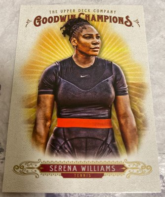 Tennis 🎾 Serena Williams 2018 Upper Deck Goodwin Champions #10 Tennis 🎾
