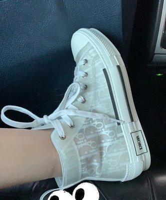 【Mark美鋪】DIOR B23 LOGO 高筒 休閒鞋