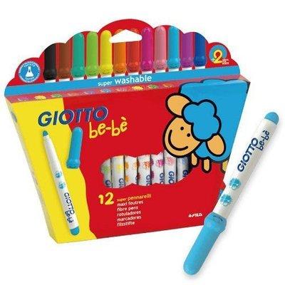 【魔法世界】新款 可洗式寶寶彩色筆(12色)