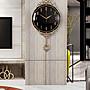 復古 創意 掛鐘 吊鐘 鐘錶輕奢北歐客廳掛鐘...