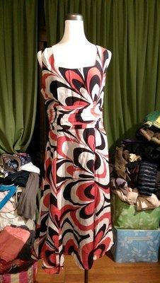 名牌 GIORGIO SEDRA  蠶絲無袖洋裝