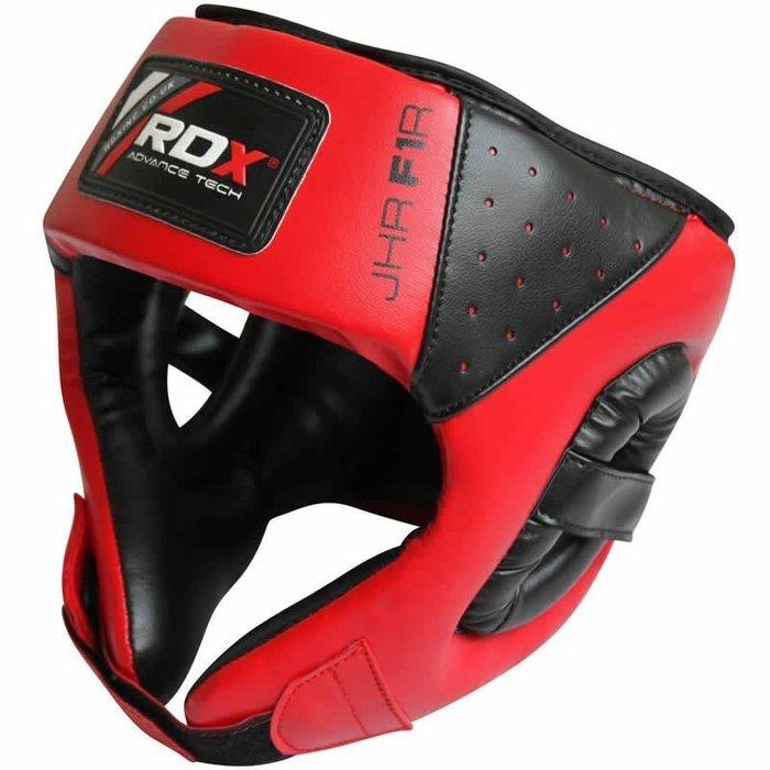 【神拳阿凱】RDX 英國 JHR-F1R 兒童青少年拳擊護頭盔 紅(免運)