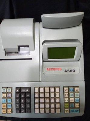 [新城小站-3]  ACCUPOS A600二聯式全中文發票收銀機  中古機  不含錢櫃  保固一年 新北市
