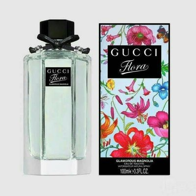 GUCCI Glamorous Magnolia 璀璨白玉蘭女性淡香水 100ml(國際版)