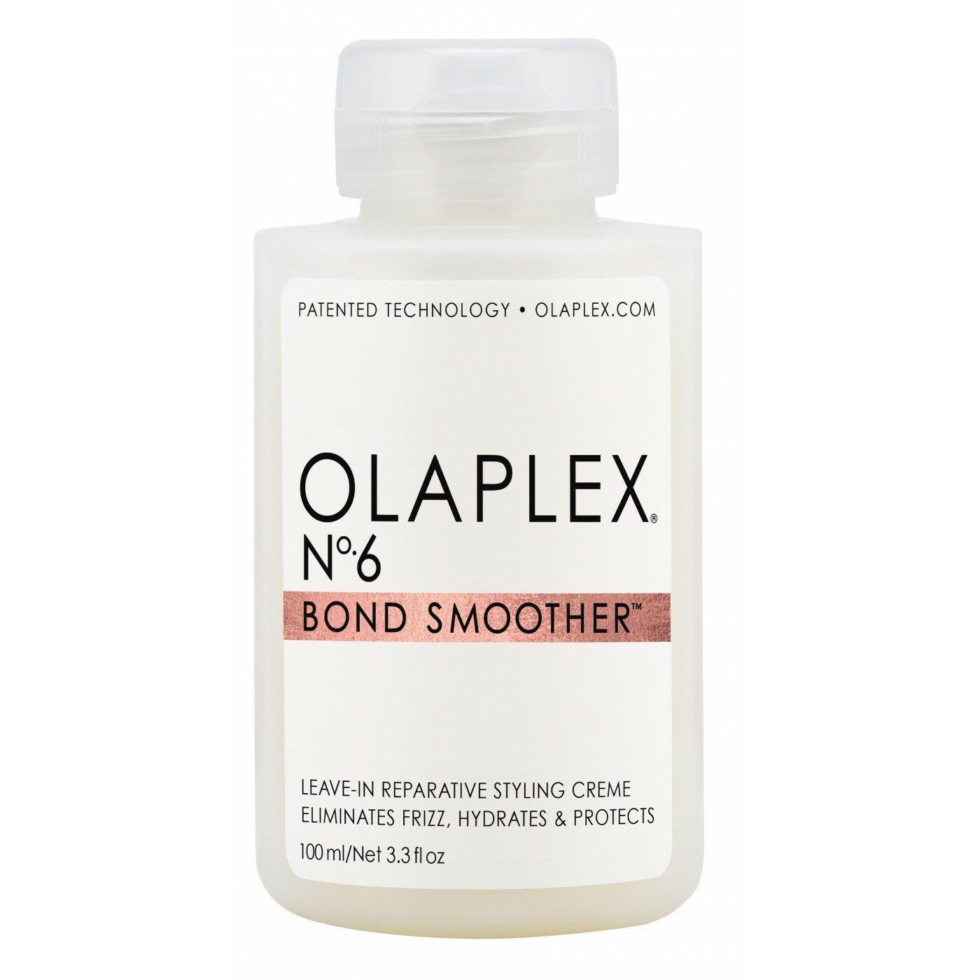 【魔法美妝】OLAPLEX歐拉 6號護髮100ml(免沖洗護髮乳)hair No 6 Bond Smoother