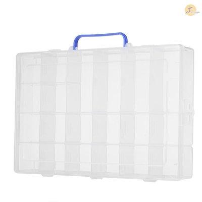 現貨~促銷~嚴選~TOP 20格帶手提可拆塑料盒pp塑膠盒電子元件收納盒SYC-215~X5D38261