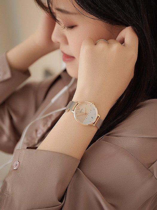888利是鋪-聚利時Julius韓版女士表簡約氣質鋼帶日歷年新款時尚潮流防水#手錶