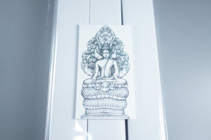 「還願佛牌」供奉香 無煙 微味 香 七龍佛 Phra Nak Prok พระนาคปรก 立香 臥香 無煙香
