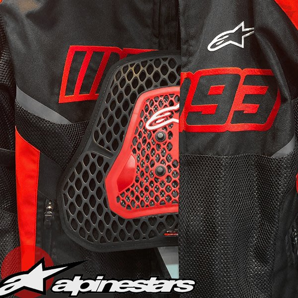 伊摩多※義大利 alpinestars 一片式護胸。黑紅6702319-003 Nucleon KR-cell cis