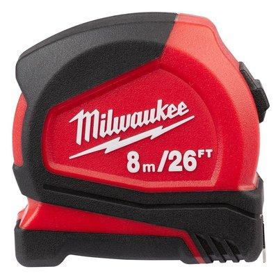 【花蓮源利】美國 Milwaukee 米沃奇 48-22-6626 捲尺米尺 8M 26FT 非 文工尺 8米尺