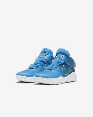 Nike Team Hustle D 9 Lil CT4063-400 CT4063-600 小童鞋 兩色