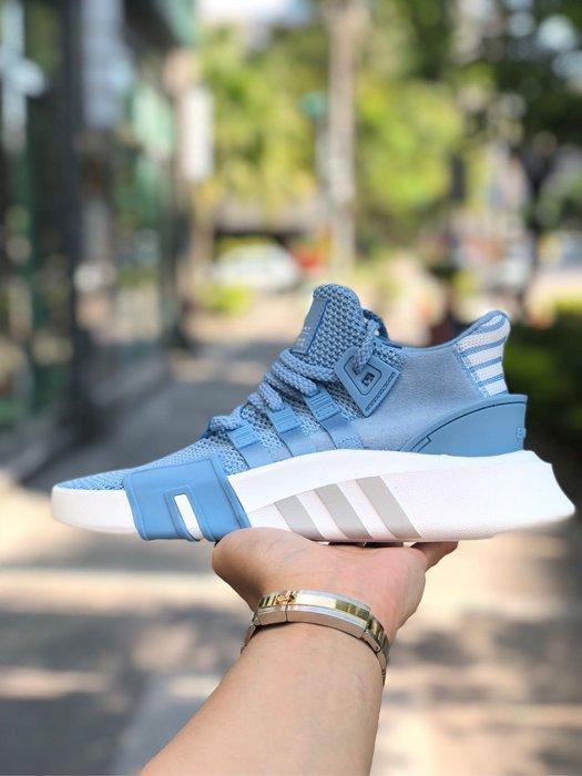 best service 1c335 7a43a Adidas Originals EQT Bask 水藍色 歐美限定 AC7353 厚底 編織球鞋-Yahoo奇摩拍賣