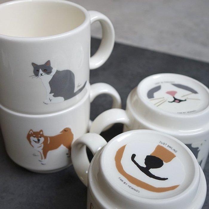郭公館-日本製柴犬貓咪陶瓷杯